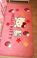 Wholesale Promotions Hot Sale Fashion Hello Kitty Carpet Kitty Rug Kitty Mats kid s carpet size cm JEKT0502