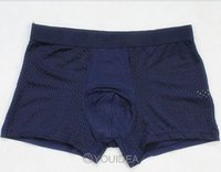 bamboo underwear for men - male panties bamboo fibre Hollow Out Sexy Gauze men underwear for sexy man boxer trunk colors for choose