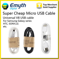 Wholesale Super Cheap Micro USB Cable Sync Data Wire USB M FT For Galaxy Note2 S3 S4 S6 Note Note HTC M8 Blackberry SONY