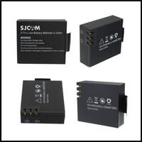 Wholesale High quality Battery For SJCAM SJ4000 WIFI SJ6000 SJ5000 Series Action Camera Camcorder V LI ION mAh Wh Waterproof camera battery