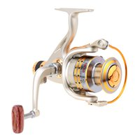 Cheap Hot Sale!Aluminum alloy 8BB Ball Bearings Left Right Collapsible Handle Carp Fishing Wheel Spinning Reel High Speed 5.1:1 Pesca Y0021