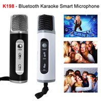 Wireless microphone - Record Vedio To Get A Free Gomeir K198 Bluetooth Karaoke Smart Microphone Home Family Party Children Kids Singing