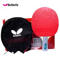 Wholesale Butterfly table tennis ball tbc202 pen double faced anti adhesive table tennis finished products set