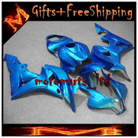 aftermarket light - all Light blue CBR600RR INJ Fairings INJECTION MOLD Aftermarket Motorcycle Kit Fairing For honda CBR RR