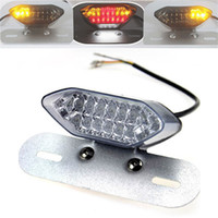 Wholesale Universal Motorcycle LED Brake Turn Signal Tail Light Turn Singal Lamp For ATV SUV Electric Vehicle V CARS0641