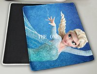 Wholesale 20X24X0 cm Frozen Mousepad computer mouse pad mat Soft Cartoon Mouse pad DIY Picture Frozen Anna Elsa Olaf Mouse Pads Mouse Mat in stock