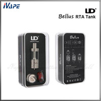 best combinations - 100 Original UD Youde Bellus RTA Tank ML Pyrex Glass Tube Tank UD Bellus RTA Atomizer with Dripping Combination Best For TC Mod