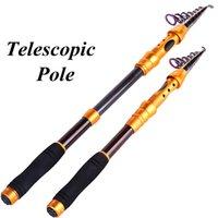 Wholesale Fishing Rod Carbon Fiber Telescopic Pole M M M M M Spinning Fishing Rod Fishing Tackle Pesca