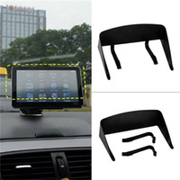 Wholesale New Inch Car GPS Professional Navigator Sun Shade Anti Reflective Black Visor Shield Car Sun Shade Promotion