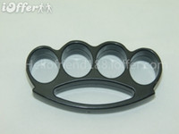 Wholesale QTY2 FAT BOY RENEGADE THICK BLACK BRASS KNUCKLE DUSTERS