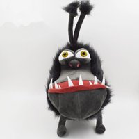 baby dog games - 40cm Cartoon film anime Despicable Me Gray Gru s dog Stuffed Plush toy doll Minions cotton hold pillow baby kids christmas gift toys