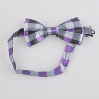 Wholesale 2015 retail Fashion Pattern Bow Tie Casual Formal Party Pre tied polka dot Tuxedo Bowtie Men s stripe Ties styles