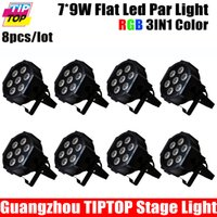 auto power washer - W RGB in1 DMX Stage Lights Cheap Price Washer Lights Led Flat Par High Power Professional Party KTV TP P375B
