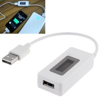 Wholesale White Color KCX Mini Mobile Power Capacity Tester Battery Tester Check A3