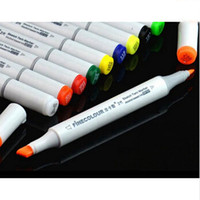 Wholesale Finecolour Alcohol Colors Copic Markers Color Bar Copic Sketch Marker Sets Touch Twin Marker Coloring Permanent Color Markerpen Sketch Ma