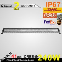 Wholesale Sales Promotion CREE IP67 LM W spot flood combo LED work light bar V offroad fog roof Auto SUV CAR head light bar