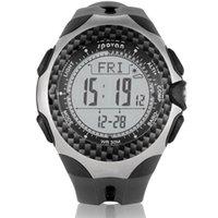 digital pedometer - Multifunctional Sports Spovan MINGO Outdoor Digital Compass Barometer Pedometer Temperature Altimeter Weather Forecast Men Watch H13101