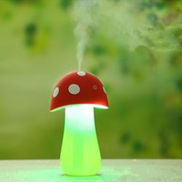 air activated switch - New Arrival Mushroom Humidifier USB Atomization Touch Switch Humidifier With Light MCJD008