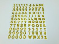 adhesive numbers and letters - Letter and Numbers Self Adhesive Sparkle Rhinestones Glitter Gemstone Alphabet Self Adhesive Srapbooking Stickers