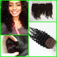 Cheap Virgin Brazilian Deep Wave Silk Base Closure, Free 3 Part Cheap Silk Base Closure Brazilian Hair,4x4 Silk Base Deep Wave Closure