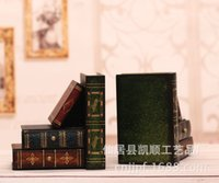 antique bookends - Factory direct creative crafts sets of two ancient antique bookends bookshelf ornaments LL