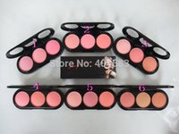 Wholesale 12pcs hot sale brand new cosmetics Marilyn Monroe Color Blush powder mc professional face blush makeup