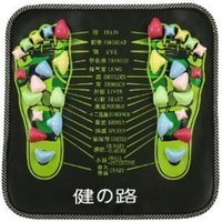 Wholesale 5pcs Genuine health Road foot massage pad foot massage mat pebbles walk blanket health carpet