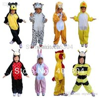 bee mouse - bear mickey mouse duck bee frog crocodile monkey panda cow dog Cosplay Children animal costume for kid styles