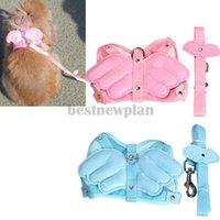 automatic pig feeders - Adjustable Angle Wing Rabbit Ferret Pig Harness Leash Lead Strap Nylon