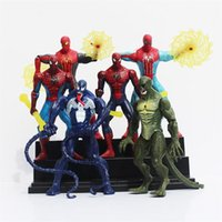 amazing dolls - Movie The Amazing Spider Man quot Action Figures Toy Set of New Characters Spiderman PVC Figure Doll