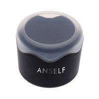 Wholesale ANSELF Fashion Round Plastic Delicate Watch Box Storage Case Multifunctional Wristwatch Case Container with Sponge Cushion J0551