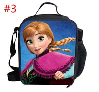 Cheap Trendy Game FROZEN lunch bags kids food thermal bag small Frozen lunchbox for boys children outdoor lancheira picnic bag