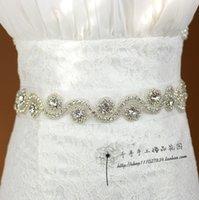 rhinestone wedding belt - Bridal Sash Dress Belt Rhinestone Wedding Belts Beaded Wedding Dress Fashion Sashes