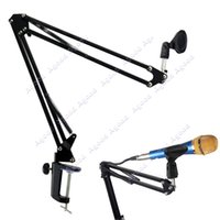 Wholesale New Broadcast Studio Microphone Mic Suspension Boom Scissor Arm Stand Recording TK1051
