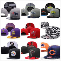 Wholesale snapback hats hip hop Draft Reflective Surface sports frozen hat all teams sports mixed order