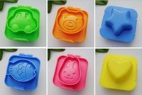 Wholesale 6 Boiled Egg Sushi Rice Mold Bento Maker Sandwich Cutter Decorating Mould