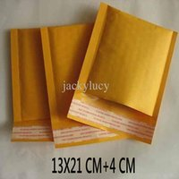 Wholesale 5 inch X21 cm cm Kraft Bubble Mailers Envelopes Wrap Bags Padded Envelope Mail Packing Pouch