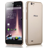 Wholesale US Stock iRULU inch Smartphone U2S Qualcomm MSM8926 GB x Unlocked Cellphone Quadcore Phone G MobilePhone