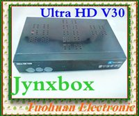 america satellite - New Hot SELLING for North America jynxbox jyazbox hd v30 original satellite receiver Ultra hd with Jb200 model hd V30