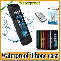 Wholesale Redpepper red pepper Waterproof Case Water Proof Case Cover Shockproof for iPhone S Case With Finger Print Scanner