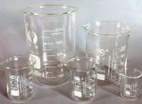 Wholesale llab glass beaker laboratory glassware