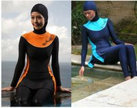 islamic clothing - Women Muslim Swimwear Islamic Swimwears Beach Swimsuits For Muslim women Islamic Clothing