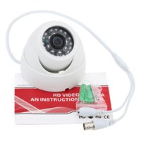 Wholesale NTSC CMOS TVL Indoor CCTV Camera LEDS Wide Angle IR Color Security Surveillance Camera Dome Camera