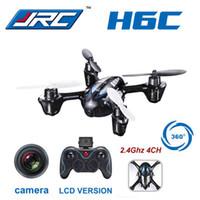 Wholesale JJRC H6C MP HD Camera Drone M High Flying UFO RC Helicopter VS Syma X5C X11C VS Hubsan X4 H107C RC Aircraft
