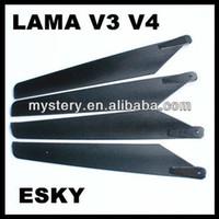 apache ah - Pairs LAMA Main Rotor Blades For APACHE AH Walkera B LAMA V3 V4 freeshipping