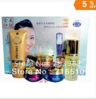 Wholesale new liang bang su Whitening cream acne freckle Set Cleanser ml ABC cream g Lotion ml