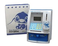 Wholesale New arrival Hot sale ATM piggy bank toy Automatic voice piggy bank toy Lovely mini silent interactive toy