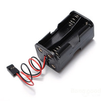 aa helicopter - Battery Box Of Receiver Holder Case AA RC Model v Servo Plug