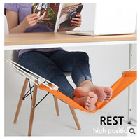 hammock stand - FUUT Canvas Foot Rest Desk Hammock Mini Office Foot Rest Stand Desk Feet Hammock The Foot Hammock Comfortable for Your Foot m0921