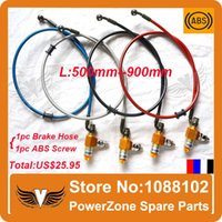Wholesale Motorcycle Dirt Bike ATV ABS Brake Anti lock Braking System With mm to mm Colorful Hydraulic Reinforced Brake Oil Hose order lt no tra